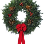 Christmas Wreath from Boy Scouts